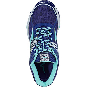 Mizuno Wave Mujin 4 G-TX Zapatillas running Mujer, patriot blue/turquoise/pearl blue
